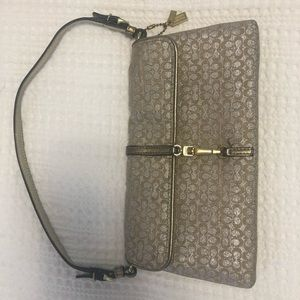 Coach - gold and silver bag